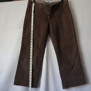 7 for All Mankind Brown Capri Pants
